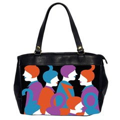 People Office Handbags (2 Sides)
