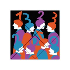 People Acrylic Tangram Puzzle (4  x 4 )