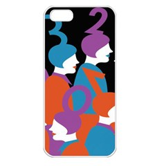 People Apple iPhone 5 Seamless Case (White)