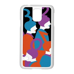 People Samsung Galaxy S5 Case (White)