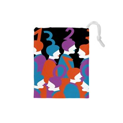 People Drawstring Pouches (Small)