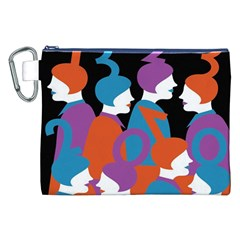 People Canvas Cosmetic Bag (XXL)