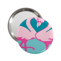 Pink Flamengo 2.25  Handbag Mirrors