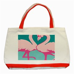 Pink Flamengo Classic Tote Bag (Red)