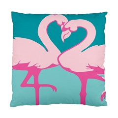 Pink Flamengo Standard Cushion Case (Two Sides)