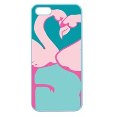 Pink Flamengo Apple Seamless iPhone 5 Case (Color)