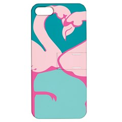 Pink Flamengo Apple iPhone 5 Hardshell Case with Stand