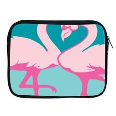 Pink Flamengo Apple iPad 2/3/4 Zipper Cases