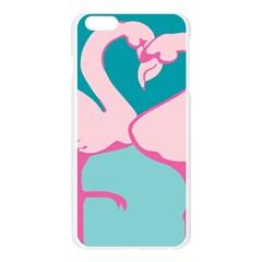 Pink Flamengo Apple Seamless iPhone 6 Plus/6S Plus Case (Transparent)