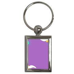 Purple Key Chains (Rectangle)