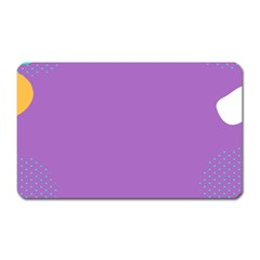 Purple Magnet (Rectangular)
