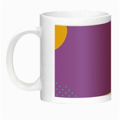 Purple Night Luminous Mugs