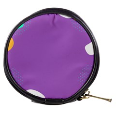 Purple Mini Makeup Bags