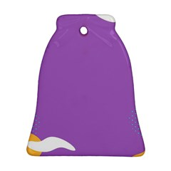 Purple Bell Ornament (2 Sides)