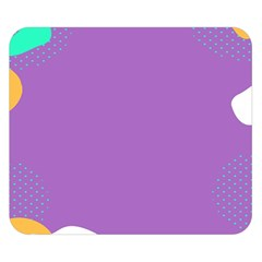Purple Double Sided Flano Blanket (Small)