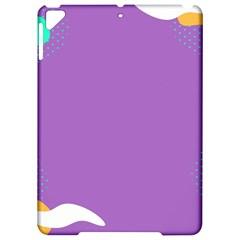 Purple Apple Ipad Pro 9 7   Hardshell Case