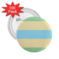 Romantic Flags 2.25  Buttons (100 pack)