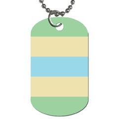 Romantic Flags Dog Tag (One Side)