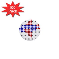 Plane 1  Mini Buttons (100 pack)