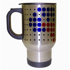 Plane Travel Mug (Silver Gray)