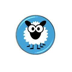 Sheep Animals Bleu Hat Clip Ball Marker (10 pack)