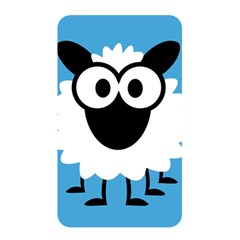 Sheep Animals Bleu Memory Card Reader