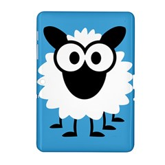 Sheep Animals Bleu Samsung Galaxy Tab 2 (10.1 ) P5100 Hardshell Case