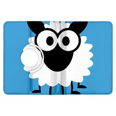 Sheep Animals Bleu Kindle Fire HDX Flip 360 Case