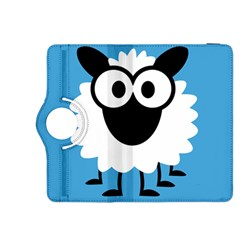 Sheep Animals Bleu Kindle Fire HDX 8.9  Flip 360 Case