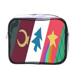 Star Color Mini Toiletries Bags