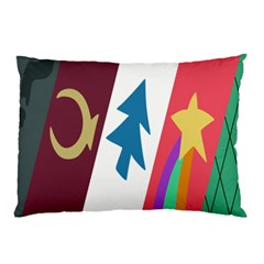 Star Color Pillow Case (Two Sides)