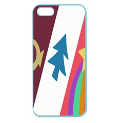Star Color Apple Seamless iPhone 5 Case (Color)