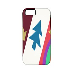 Star Color Apple iPhone 5 Classic Hardshell Case (PC+Silicone)