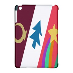 Star Color Apple iPad Mini Hardshell Case (Compatible with Smart Cover)