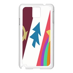 Star Color Samsung Galaxy Note 3 N9005 Case (White)