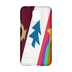 Star Color Samsung Galaxy S5 Hardshell Case