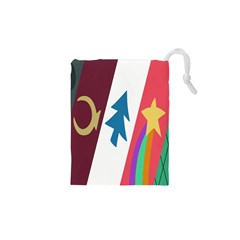 Star Color Drawstring Pouches (XS)