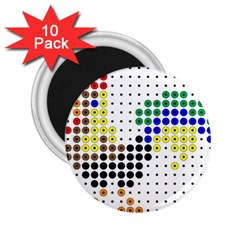 Rooster 2.25  Magnets (10 pack)