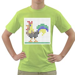 Rooster Green T-Shirt