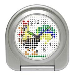 Rooster Travel Alarm Clocks