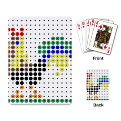 Rooster Playing Card
