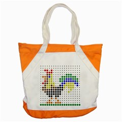 Rooster Accent Tote Bag