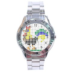 Rooster Stainless Steel Analogue Watch