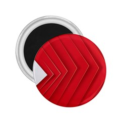 Rank Red White 2.25  Magnets