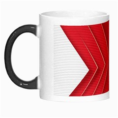 Rank Red White Morph Mugs