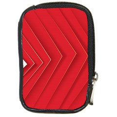 Rank Red White Compact Camera Cases