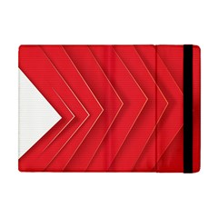 Rank Red White Apple iPad Mini Flip Case