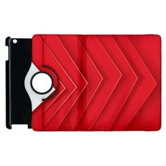 Rank Red White Apple iPad 2 Flip 360 Case