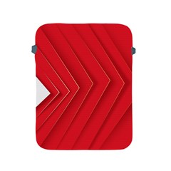 Rank Red White Apple iPad 2/3/4 Protective Soft Cases
