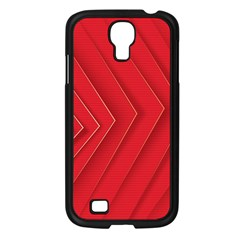 Rank Red White Samsung Galaxy S4 I9500/ I9505 Case (Black)